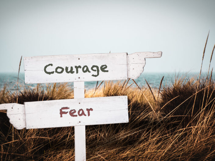 fear or courage